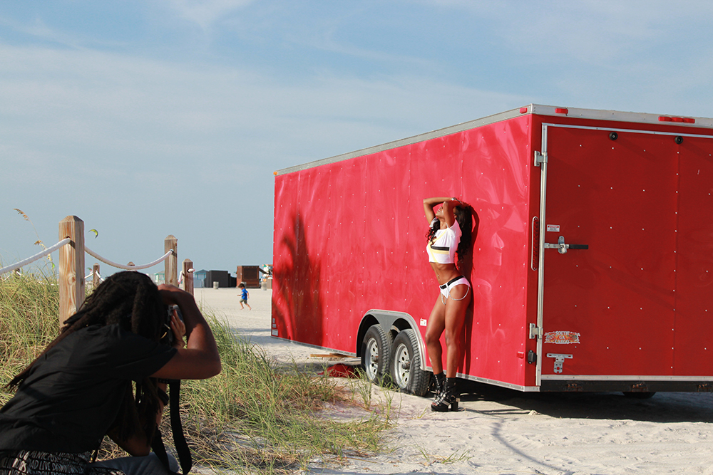 Kesi Case Photoshoot - behind the Scenes